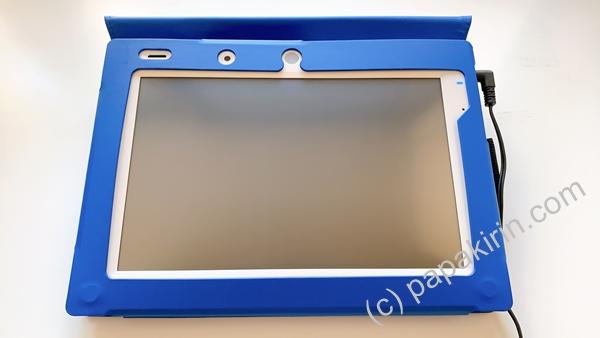 チャレンジタッチの専用タブレットの画像