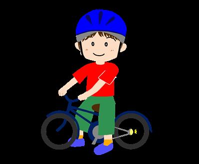 次点者に乗る男の子の写真