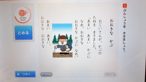 国語の大きなカブの問題の写真